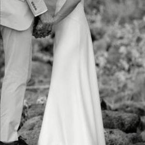 JCrew classic wedding dress size 0